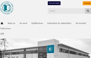 Qualfications Wales website