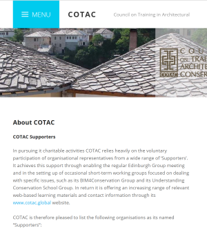 COTAC website