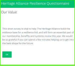 Heritage Alliance website