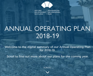 HES Annual Operating Plan website