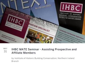 IHBC MATE Event images