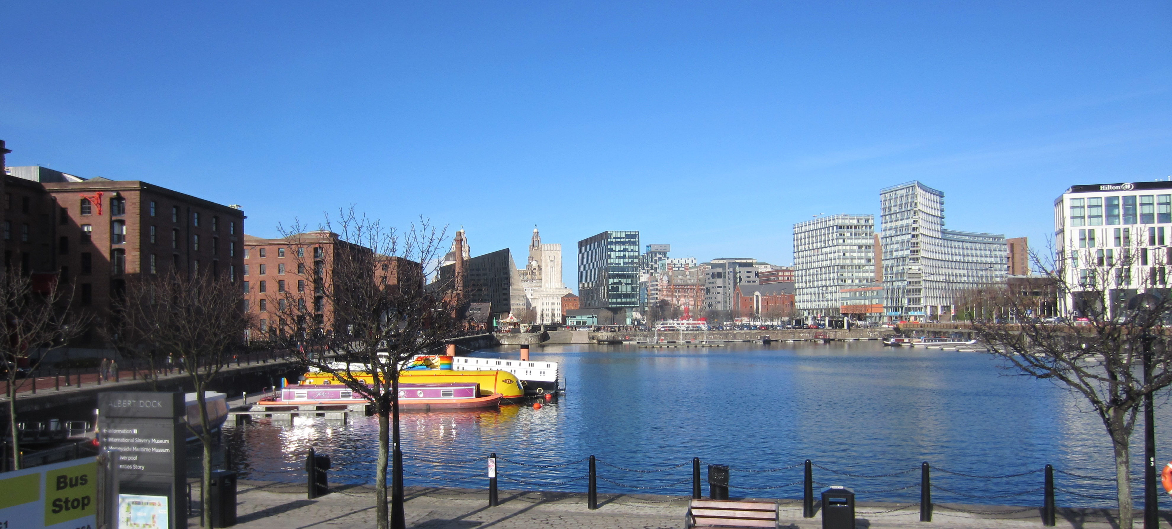 waterfront and buildings