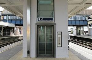 lift and railway