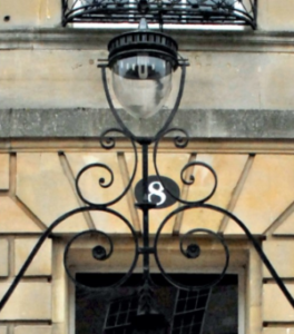 lantern and building